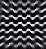 Abstract black white color zoom pattern wallpaper Royalty Free Stock Photography