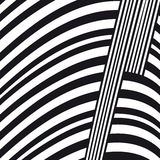 Abstract black and white composition Royalty Free Stock Photography