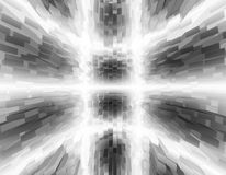 Abstract black and white 3d illustrtion background for design. Abstract black and white 3d rendered illustrtion background for design royalty free illustration