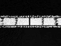 Abstract black and white 3d illustrtion background for design. Abstract black and white 3d rendered illustrtion background for design stock illustration