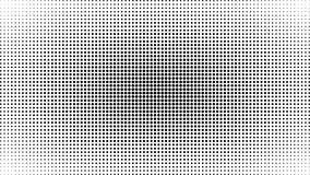 Abstract black and white dots background. Comic pop art style. Light effect. Gradient background with dots. Abstract black and white dots background. Comic pop royalty free illustration