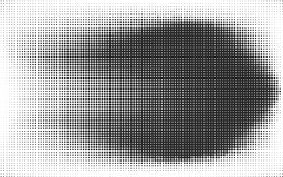 Abstract black and white dotted background vector illustration