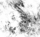 Abstract black and white fractal on white background. Fantasy fractal texture. Digital art. 3D rendering. Computer generated image.  vector illustration