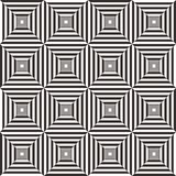 Abstract black and white geometric pattern background Royalty Free Stock Photography