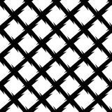 Abstract black and white geometric pattern. Seamlessly repeatabl Stock Photos