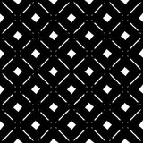 Abstract black and white geometric pattern. Seamlessly repeatabl Stock Image