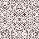 Abstract black and white geometric Seamless Textur. Abstract Floral Seamless Vector Background Texture. Seamless pattern with lightning ornament on pink Royalty Free Stock Images