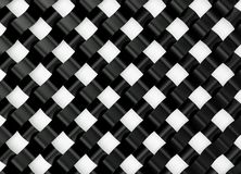 Abstract black and white geometrical background. 3D render. An abstract black and white geometrical background. 3 D rendering Stock Image