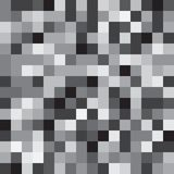 Abstract black and white geometrical background Stock Images