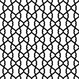 Black and White Grid Seamless Texture. Abstract black and white grid texture seamless background. Fencing lattice wires Royalty Free Stock Photography