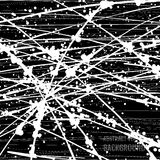 Abstract black and white grunge background. Brush stroke hand painted. Paint ink splatter stock illustration