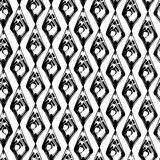 Abstract black and white grunge seamles pattern Royalty Free Stock Images