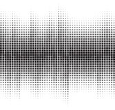 An abstract black and white halftone background Royalty Free Stock Image