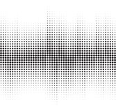 An abstract black and white halftone background vector illustration