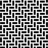 Abstract Black & White Illustration Royalty Free Stock Photography