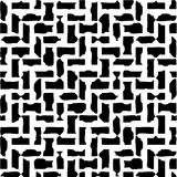 Abstract Black & White Illustration Royalty Free Stock Images