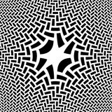 Abstract Black & White Illustration Royalty Free Stock Image