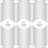 Abstract black and white lines  background eps 10 Royalty Free Stock Photos