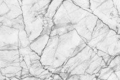 Abstract black and white marble patterned (natural patterns) texture background. Stock Photos