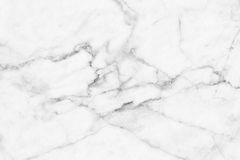 Abstract black and white marble patterned (natural patterns) texture background. Royalty Free Stock Image
