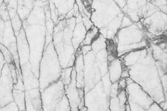 Abstract black and white marble patterned (natural patterns) texture background. Stock Photo