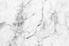 Abstract black and white marble patterned (natural patterns) texture background. Stock Images