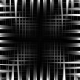Abstract black and white metal frame background. Illustration Royalty Free Stock Photo