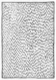 Abstract black and white monochrome ink stroke texture background vector.  Royalty Free Stock Photos