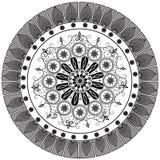 Abstract Black White Motif Design Royalty Free Stock Photo