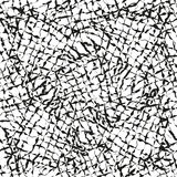Abstract black and white net seamless background Royalty Free Stock Image