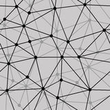 Abstract black and white net seamless background Stock Photos
