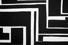Abstract black and white painted background Royalty Free Stock Images