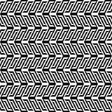 Abstract black & white pattern Stock Images