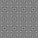 Abstract black & white pattern Royalty Free Stock Image