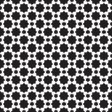 Abstract black and white pattern background stock illustration