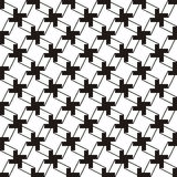 Abstract black and white pattern Stock Images