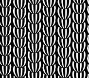 Abstract black and white pattern. Vector striped pattern Royalty Free Stock Image