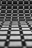 Abstract black and white pattern. A Wave-like Abstract of a placemat royalty free stock photography