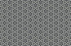 abstract black and white patterns background Stock Photos