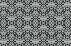 abstract black and white patterns background Stock Image