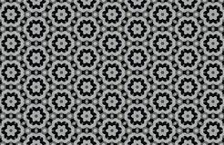 abstract black and white patterns background Stock Photo