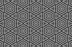 abstract black and white patterns background Stock Photography