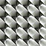 Abstract black and white plastic pattern.  Metallic surface.  Texture background. Seamless illustration. Royalty Free Stock Images