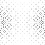 Abstract black and white ring pattern. Background Royalty Free Stock Photos