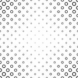 Abstract black and white ring pattern design. Abstract black and white ring pattern background design Royalty Free Stock Photography