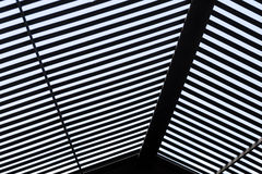 Abstract Black & White roof background Royalty Free Stock Image