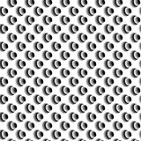 Abstract Black and White Seamless Geometric Background from Elli Stock Photo