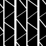 Abstract black and white seamless pattern background illustration Royalty Free Stock Photography