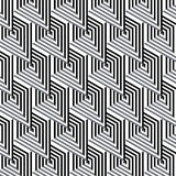 Abstract black & white seamless pattern Stock Image
