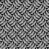 Abstract black and white seamless pattern Stock Photo